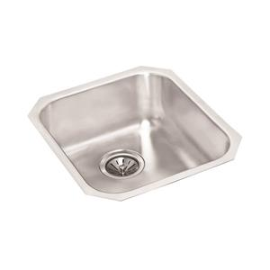 Wessan Stainless Steel Undermount Sink - 18-in x 16-in x 8'