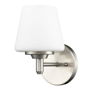 Acclaim Lighting Paige 9-in 1 Bulb Nickel Wall Light