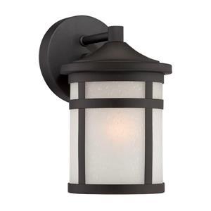 Acclaim Lighting Austin 9.25-in x 5.62-in Matte Black Mounted Wall Lamp