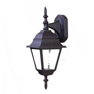 Acclaim Lighting Builders' Choice 16-in x 6-in Matte Black Wall Mounted Lantern