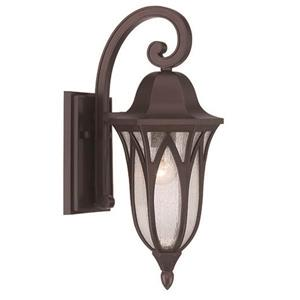 Acclaim Lighting Milano 17.25-in x 7.00-in Architectural Bronze Wall Mounted Lantern