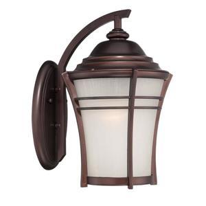 Acclaim Lighting Vero 10.12-in Architectural Bronze MarbleX Outdoor Wall Lantern