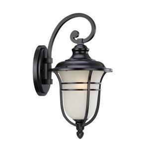 Acclaim Lighting Montclair 21.25-in Matte Black Aluminum Outdoor Wall Lantern