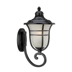 Acclaim Lighting Montclair 18.50-In x 9.00-In Matte Black Wall Mounted Lantern