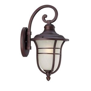 Acclaim Lighting Montclair 19.50-In x 9.00-In Architectural Bronze Wall Mounted Lantern
