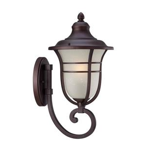 Acclaim Lighting Montclair 18.50-In x 9.00-In Architectural Bronze Wall Mounted Lantern