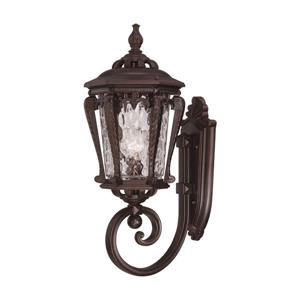 Acclaim Lighting Stratford 23-in Bronze Aluminum Upward Outdoor Wall Lantern