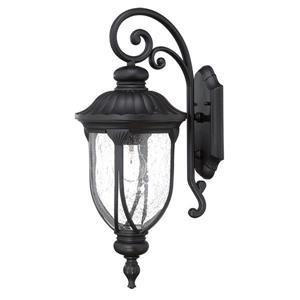 Acclaim Lighting Laurens 22.5-in Matte Black Aluminum Outdoor Wall Lantern