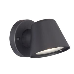 1-Light Tapered Cylinder Outdoor LED Wall Sconce