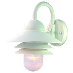Acclaim Lighting Mariner 13.00-in x 10.00-in Teal White Wall-Mounted Lantern