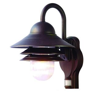 Acclaim Lighting Mariner 13.00-in x 10.00-in Architectural Bronze Wall-Mounted Lantern