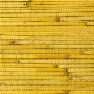 Walls Republic Reed Yellow Grasscloth Wallpaper