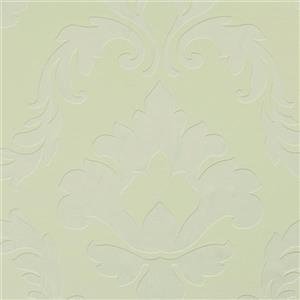Walls Republic Egg Shell Metallic Floral Damask Non-Woven Unpasted Wallpaper