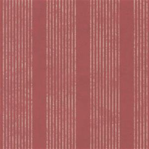 Walls Republic Red Classic Ribbed and Striped Wallpaper