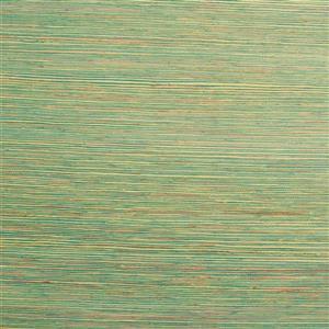 Walls Republic Raw Green Grasscloth Wallpaper