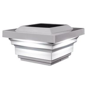 Regal PVC Cap Solar LED Post Light