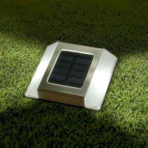 Classy Caps Stainless Steel Solar Motion Sensor Security Light