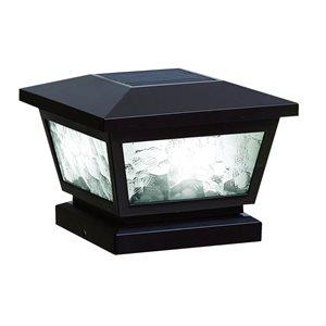 Classy Caps FS100 Fairmont Black Solar Post Cap