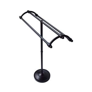 Elements of Design Vintage Oil-Rubbed Bronze Freestanding Towel Rack