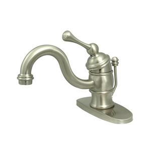 Elements of Design Vintage Lever Handle Bathroom Faucet with Drain