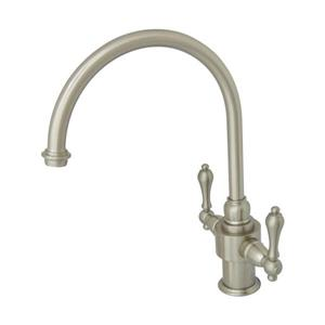English Country Two Handle Kitchen Faucet with Sprayer