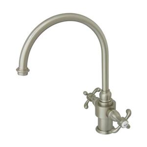 French Country Two Handle Kitchen Faucet with Sprayer