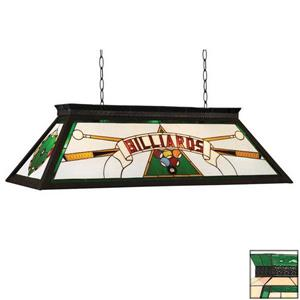 RAM Game Room Products 4-Light Billiard Pool Table Light Green