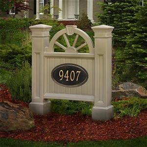 Mayne Winchester Address Sign - Clay