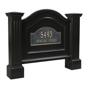 Mayne Nantucket Address Sign - Black