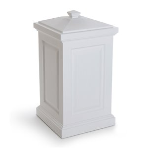 Mayne Berkshire Storage Bin - White