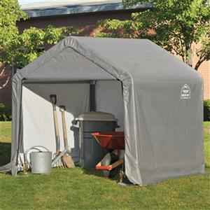 ShelterLogic Shed-in-a-Box 6-ft x 6-ft Grey Portable Shed