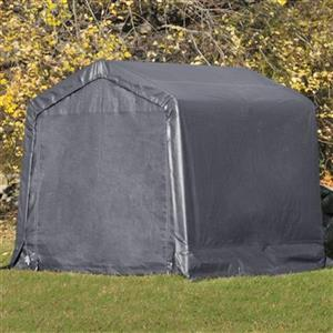 ShelterLogic Shed-in-a-Box 8-ft x 8-ft Grey Portable Shed