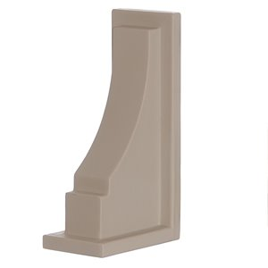 Mayne 11-in Fairfield/Cape Cod Decorative Supports 2-Pack - Clay