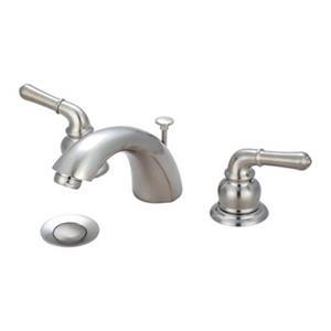 Olympia Faucet 1.88-in Brushed Nickel Bathroom Sink Faucet