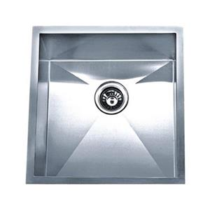 Acri-tec Industries 19-in x 20-in x 10-in Stainless Steel Undermount Square Corner Kitchen Sink