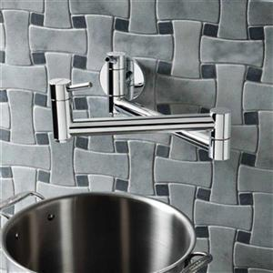 Blanco Cantata II Chrome Pot Filler Kitchen Faucet