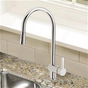 Blanco Rita Chrome Kitchen pull-down Faucet