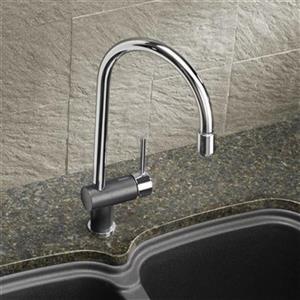 Blanco Rita Chrome/Anthracite Kitchen Faucet