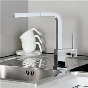 Blanco Silhouette Chrome Kitchen Faucet