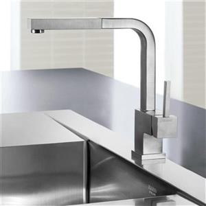 Blanco Silhouette Stainless Steel Kitchen Faucet