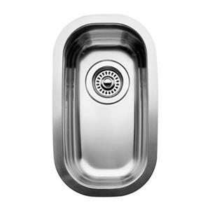 Blanco Wave Plus 18-in x 12.75-in x 7-in Stainless Steel Single Bowl Undermount Kitchen Sink