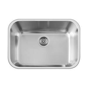 Blanco Essential 17.75-in x 24-in Stainless Steel Single Bowl Undermount Kitchen Sink