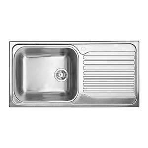 Blanco Tipo 19.75-in x 37.5-in Stainless Steel XL 6S Drop-in Sink with Drainboard