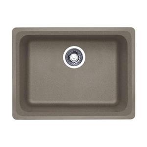 Blanco Vision Silgranit Truffle 18-in x 24-in Undermount Sink