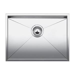 Blanco Quatrus Steel 18-in x 22-in U Single Sink