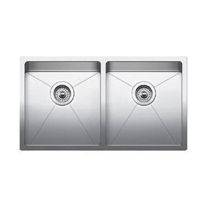 Blanco Quatrus Steel 18-in x 32-in Kitchen Sink