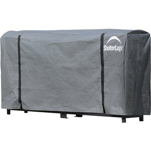 Shelter Logic Firewood Rack Cover Lowe S Canada