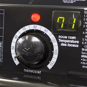 Dyna-Glo Delux 95,000/135,000 BTU Grey Kerosene Forced Air Heater