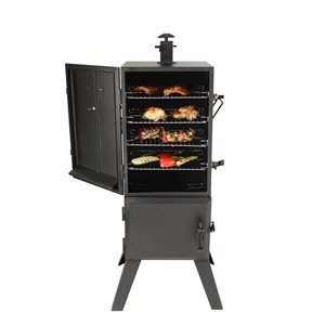 Dyna Glo Vertical Charcoal Smoker 36 Quot Black Lowe S Canada