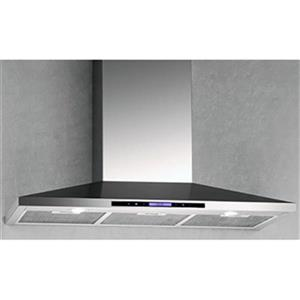 Arda 36-in 600 CFM Wall-Mounted Range Hood (Stainless Steel)